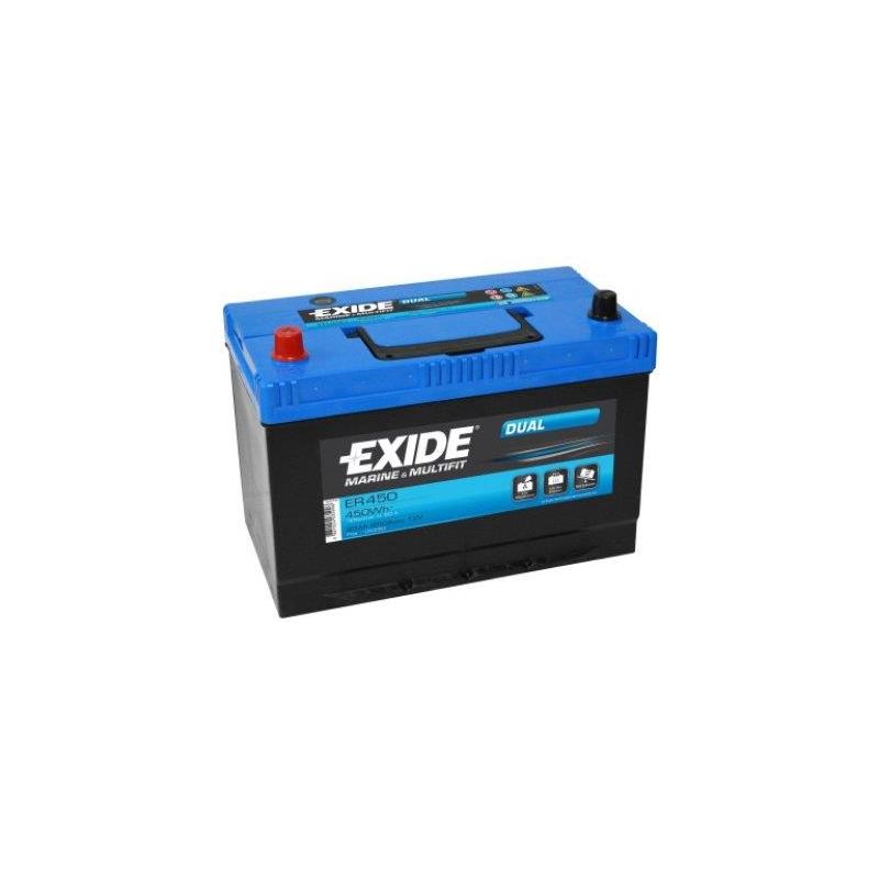 c82ab27eef6 Exide ER450 DUAL 12V/95Ah/650A 310x175x225 +/- @ Soodsad akud ...