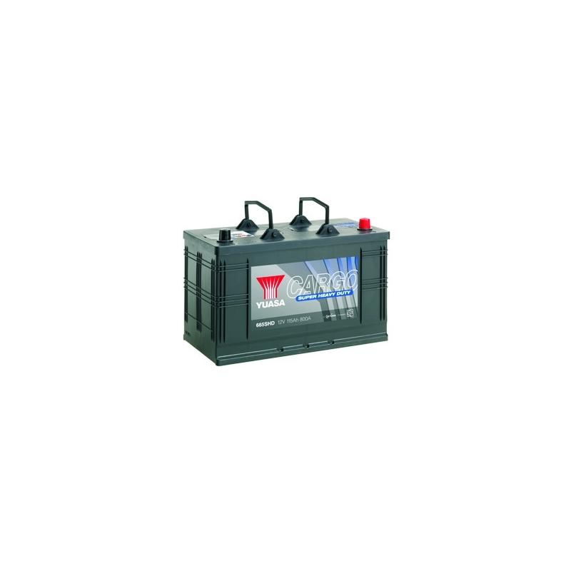 12V 115Ah 800A Yuasa Cargo 345x172x232