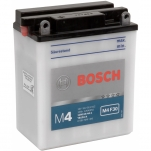 Bosch 0092M4F300 12V/12Ah/160A 136x82x161, +/-