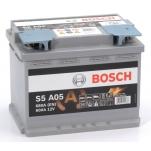 BOSCH S5A05 AGM 60Ah 680A 242x175x190 -/+