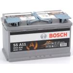 BOSCH S5A11 AGM 80Ah 800A 315x175x190 -/+
