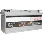 BOSCH S5A15 AGM 105Ah 950A 393x175x190 -/+