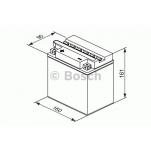 Bosch 0092M4F390 12V/16Ah/200A 160x90x161 +/-
