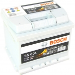 BOSCH S5001 52Ah 520A 207x175x175 -/+