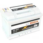 BOSCH S5007 74Ah 750A 278x175x175 -/+