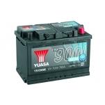 YUASA YBX9096 278x175x190 70Ah 760A AGM Start Stop Plus -/+