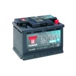 YUASA YBX9027 60Ah 680A  242x178x190 AGM Start Stop Plus -/+