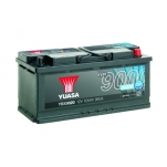 YUASA YBX9020 393x175x190 105Ah 950A AGM Start Stop Plus -/+