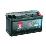 YUASA YBX9019 95Ah 850A 353x175x190 AGM Start Stop Plus -/+