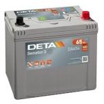 DETA SENATOR3 DA654 65Ah 580A 230x170x225 -/+