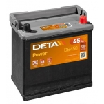 DETA POWER DB450 45Ah 330A 220x135x225 -/+
