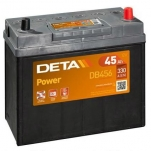 DETA POWER DB456 45Ah/330A  237x127x227 -/+