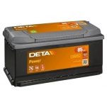 DETA POWER DB852 12V/85Ah/760A 352x175x175 -/+