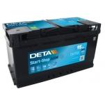 DETA AGM DK950 95Ah 850A 353x175x190 -/+