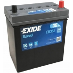 Excell EB356 35Ah 240A 187x127x220 -/+