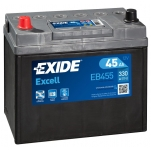 Excell EB455 45Ah300A 234x127x220 +/-