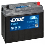 Excell EB456 45Ah 300A 234x127x220 -/+
