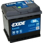 Excell EB500 50Ah 450A 207x175x190 -/+