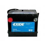 Exide EB608 Excell USA 60Ah 640A 235x179x180 +/-