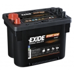 EXIDE AGM 50Ah 900A 260x172x205 +-