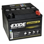 Exide ES290 Equipment Gel 12V/25Ah/150A 165x175x125 -/+