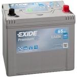 EXIDE Premium EA654 65Ah 580A 230x173x222 -/+