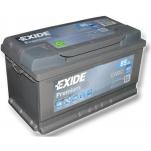 EXIDE Premium 85Ah 800A 315x175x175 -+