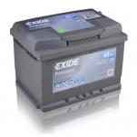EXIDE Premium EA612 61Ah 600A 242x175x175 -/+