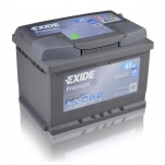 EXIDE Premium 61Ah 600A 242x175x175 -+