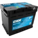 EXIDE EL600 ECM EFB 60Ah 640A 242x175x190 -/+