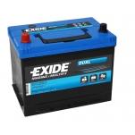 Exide ER350 DUAL 12V/80Ah/510A 270x175x222 +/-
