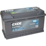 EXIDE Premium EA1000 100Ah 900A 353x175x190 -/+