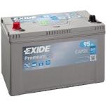 EXIDE Premium 95Ah 800A 306x173x222 +-