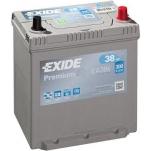 EXIDE Premium EA386 38Ah 300A 187x127x220 -/+