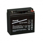 POWERFIT300 S312/18G5 AGM 12V/18Ah 182x77x168 -/+