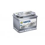 VARTA AGM 60Ah 680A 242x175x190 -+