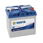 VARTA D47 60Ah 540A 232x173x225 -/+