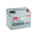 YUASA YBX5027 62Ah 600A Silver High Performance 0 243x175x190 -/+