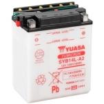 YUASA YU-SYB14L-A2 12V/14Ah/175A 134x89x166 -/+