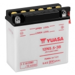 YUASA YU-12N5.5-3B Moto aku 12V/ 5.8Ah/55A 135x60x130 -/+