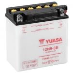 YUASA YU-12N9-3B 12V/9.5Ah/85A 135x75x139 -/+
