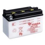 YUASA YU-6N11-2D 6V/11.6 Ah 150x70x100 +/-