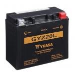YUASA YU-GYZ20L 12V/20Ah 175x87x155 -/+