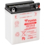 YUASA YU-YB12A-B 12V/12Ah/150A 134x80x160 +/-