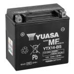 YUASA YU-YTX14-BS 12V/12.6Ah/200A 150x87x145 +/-