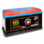 ZAP 96007 Energy Plus 100Ah 720A -/+ 350x175x190