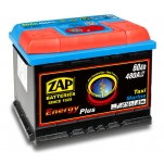 ZAP 95607 Energy Plus 60Ah 480A -/+ 242x175x190