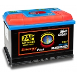 ZAP 95807 Energy Plus 80Ah 600A -/+ 275x175x190